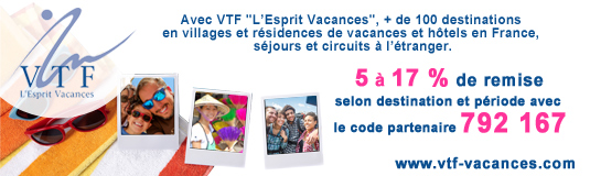 VTF-Vacances - + 100 destintions